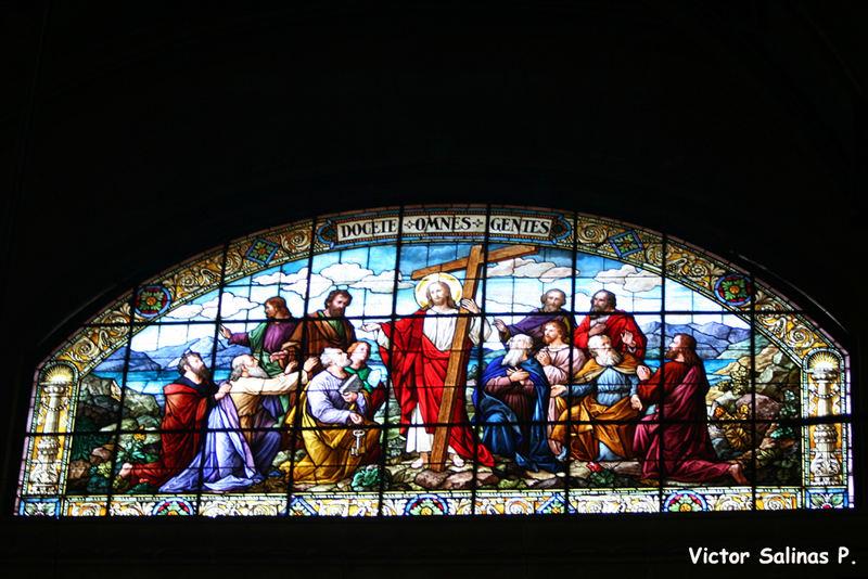 Vitral Catedral de Santiago