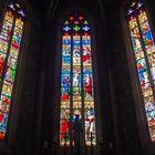 Vitraux de la Chapelle de la Vierge