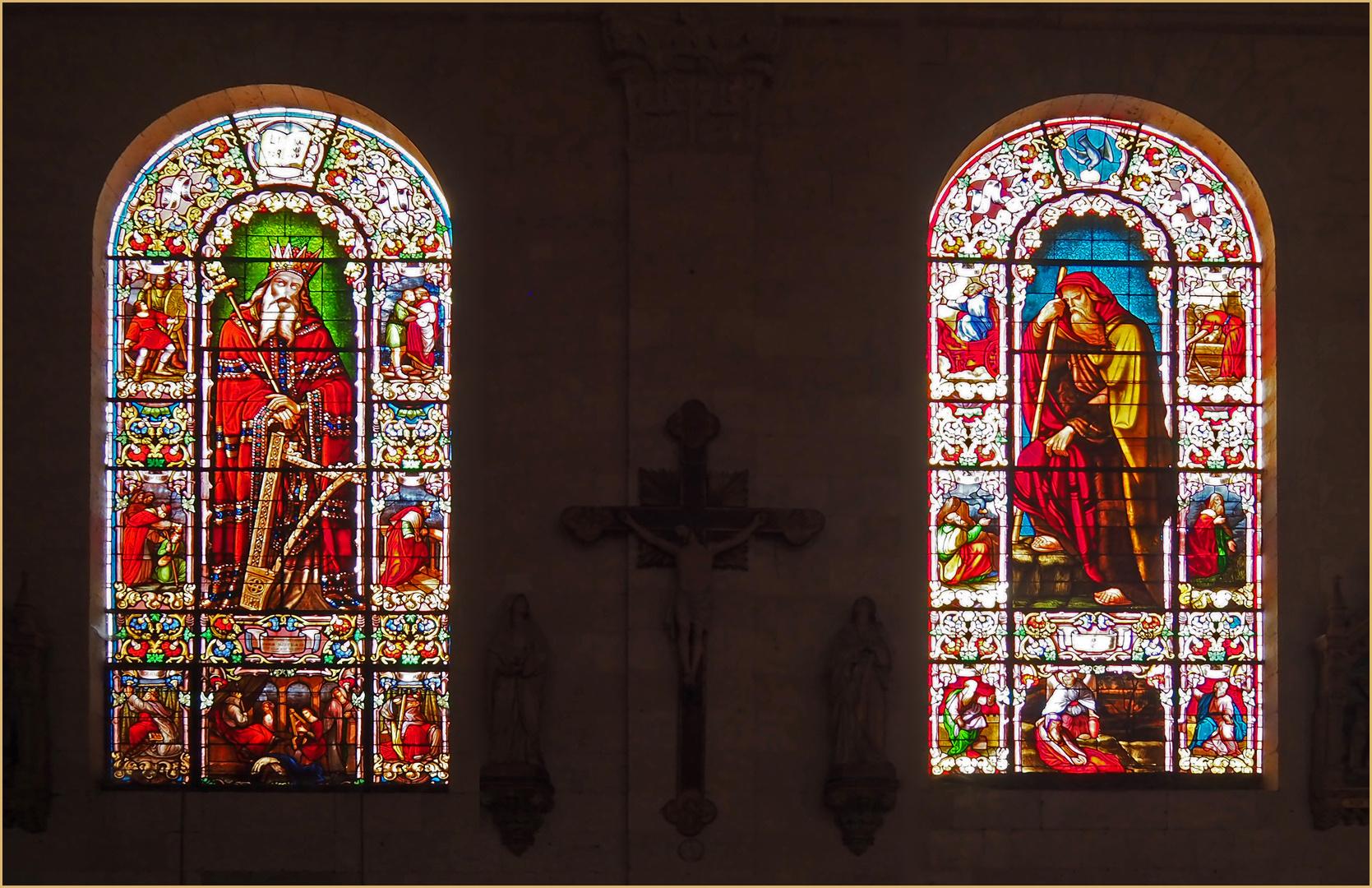 Vitraux de l'Eglise Saint-Nicolas de Nérac