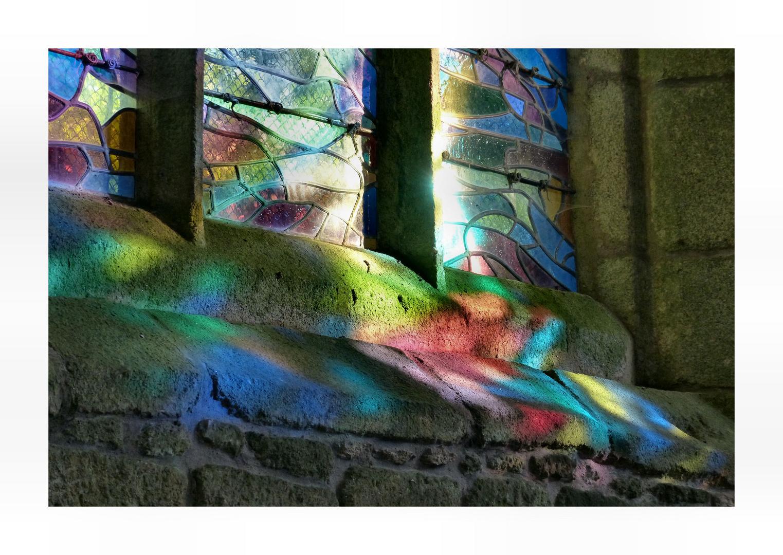 Vitraux de l´église Saint Ronan, Locronan