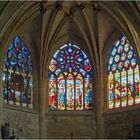 Vitraux du choeur de la Cathédrale Saint-Pierre de Condom