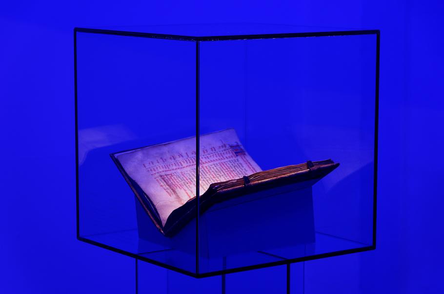 Vitrine im Stiftsmuseum Melk