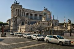 Vittorio Emanuele II Nationaldenkmal  - Rom  -