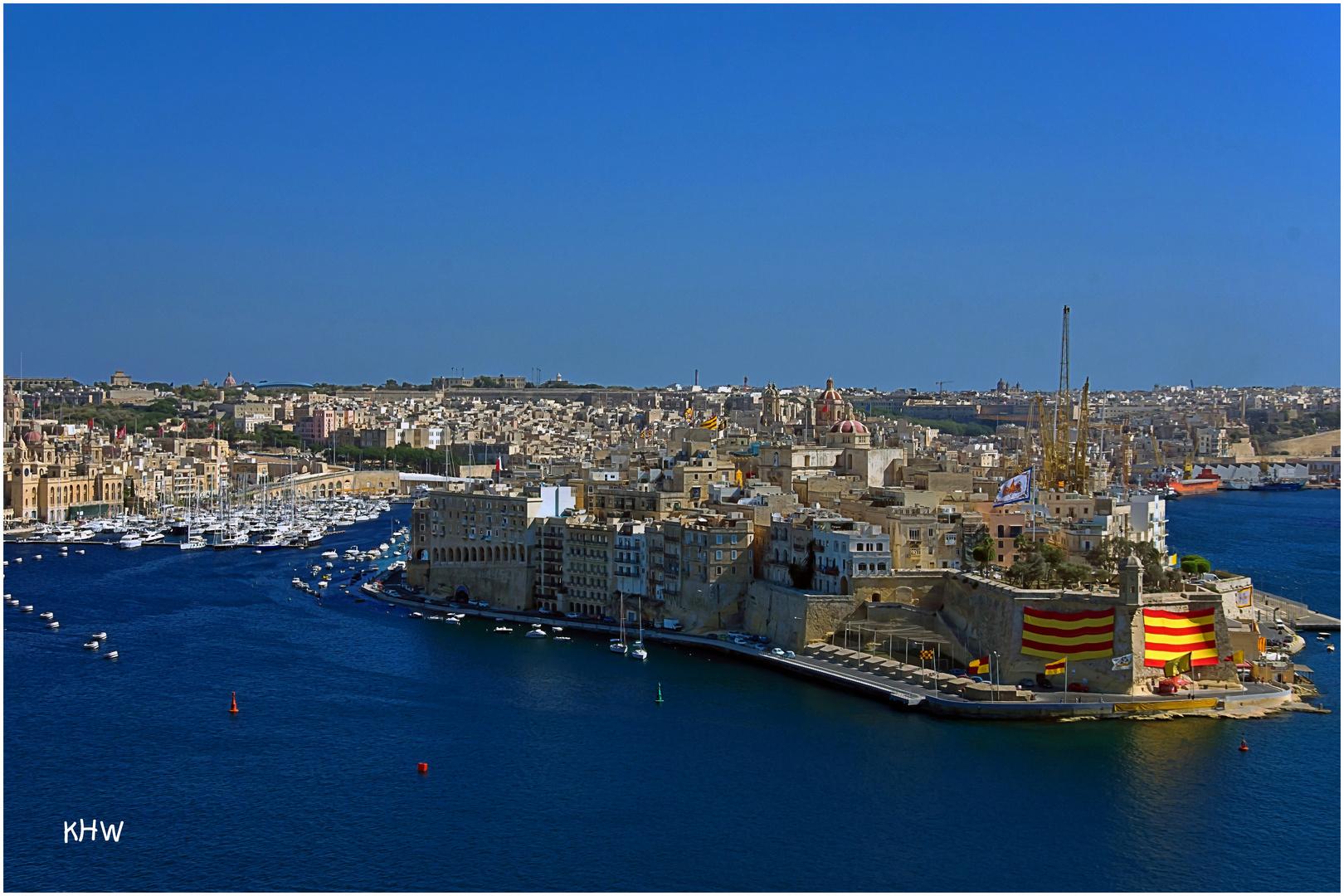 """Vittoriosa am """"Grand Harbour"""""""