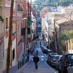 Vivat Barcelona! Street like a gorge