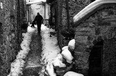 Vivere nel borgo d'inverno