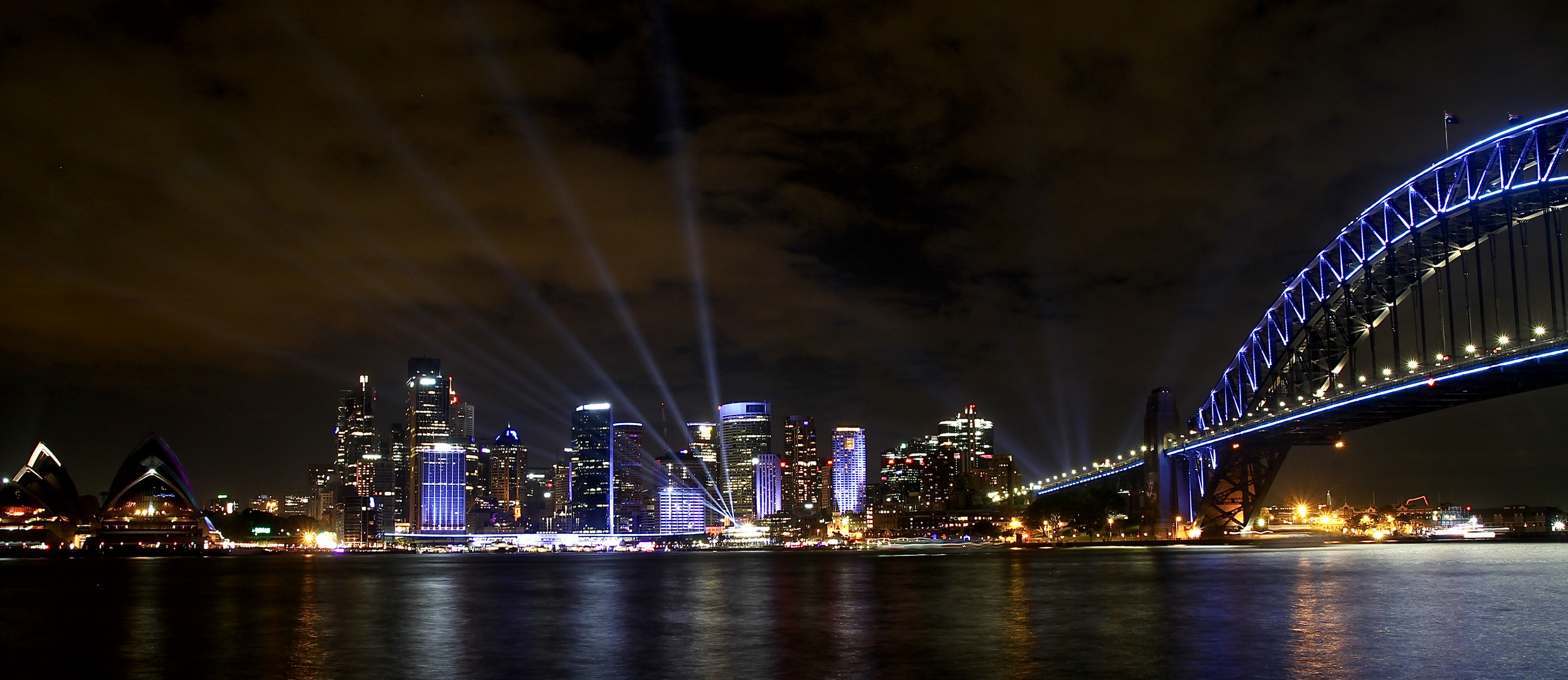 vivid city