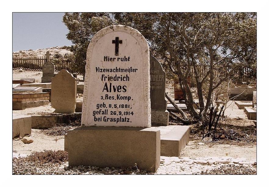Vizewachtmeister Friedrich Alves
