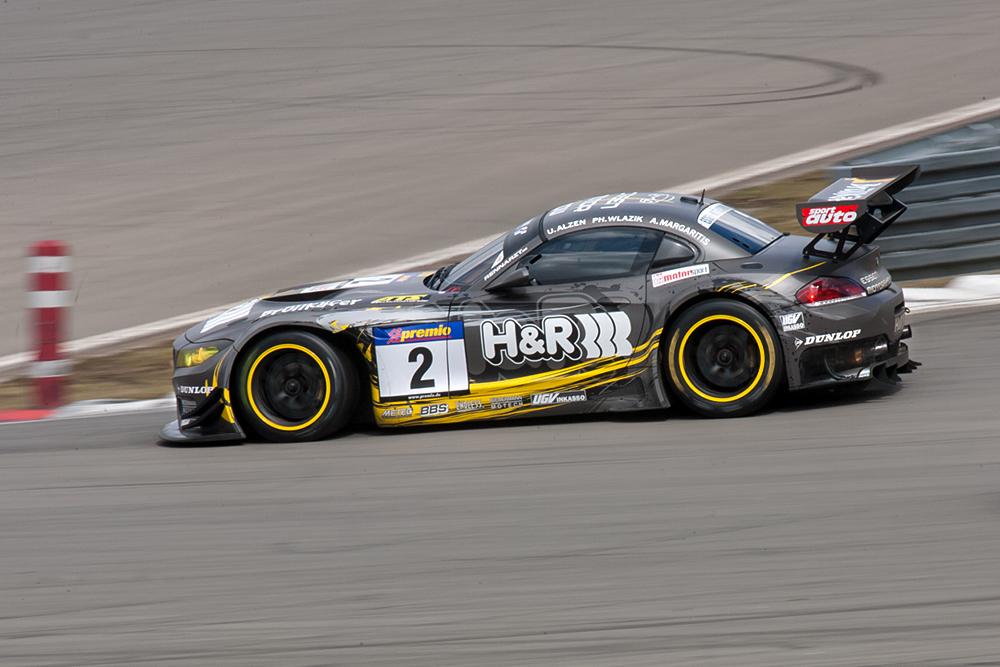 VLN-13.04.13, BMW Z4 GT3 von H&R