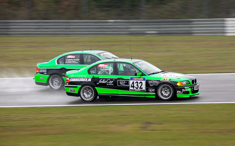 VLN 27.08.11, Dolate Motorsport Nr.: 432 und 431