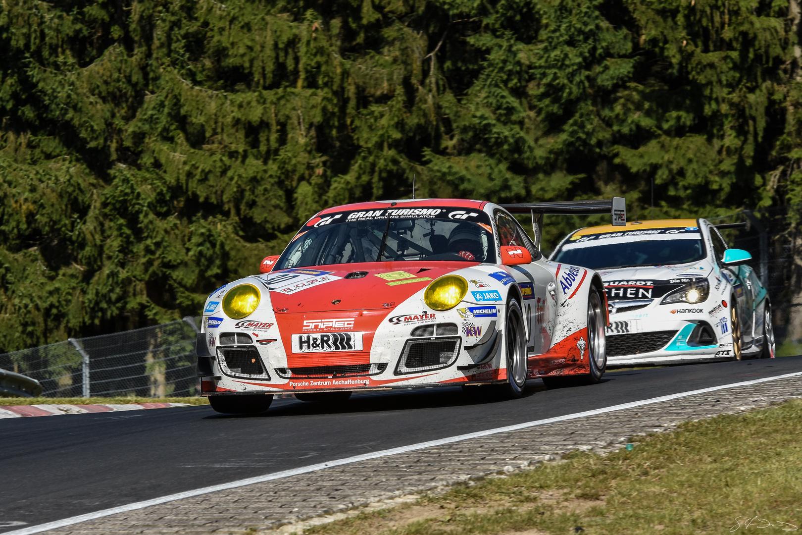 VLN Nordschleife 2015 Porsche