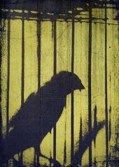 Vögel, die verkünden Land