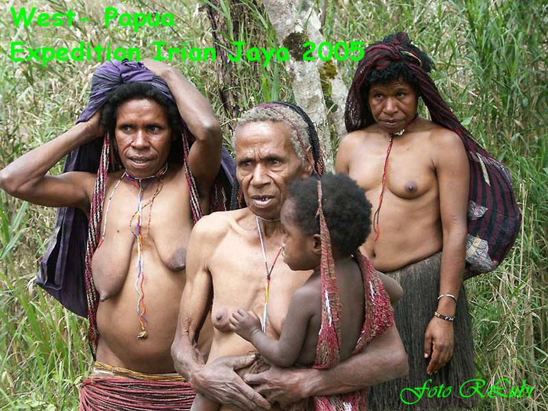 Völker Irian Jayas
