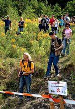 Völkerwanderung im Naturschutzgebiet beim Truck-Trail in Voitsberg!