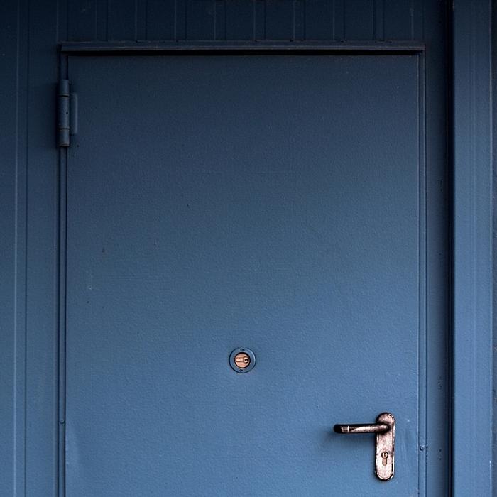 [vogi]-taubenblau, abgeschattet ...