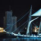 voiles de nuit à La Rochelle