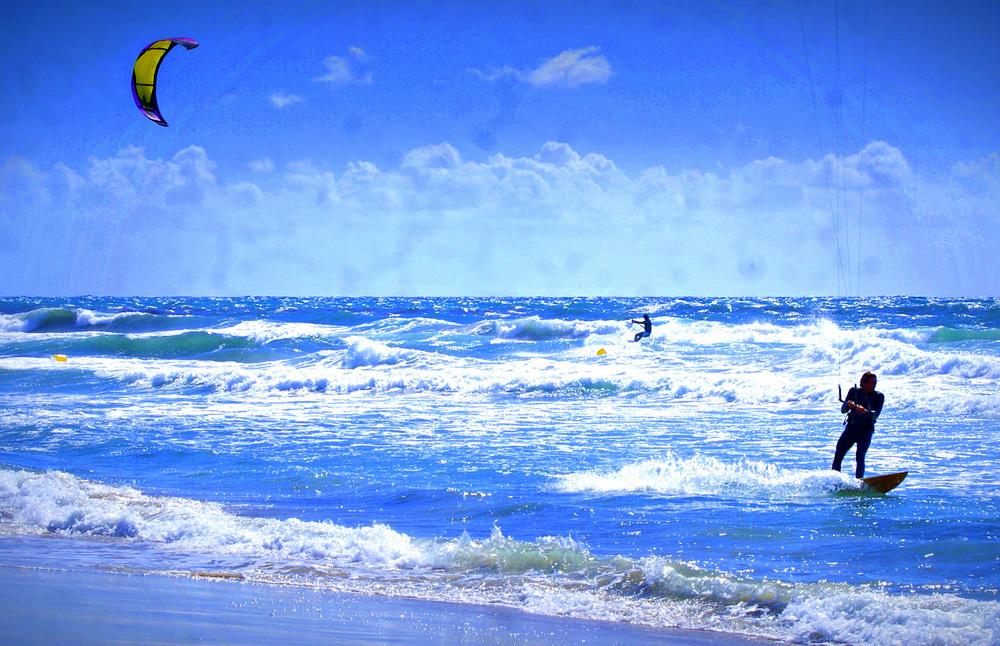 Volando sobre olas...