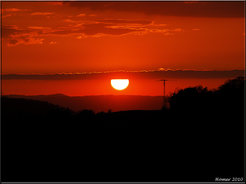 Volcano- Sunset...