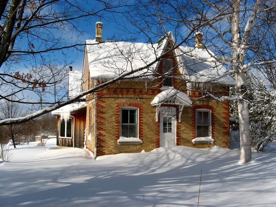Volevo una casetta piccolina in Canada.........