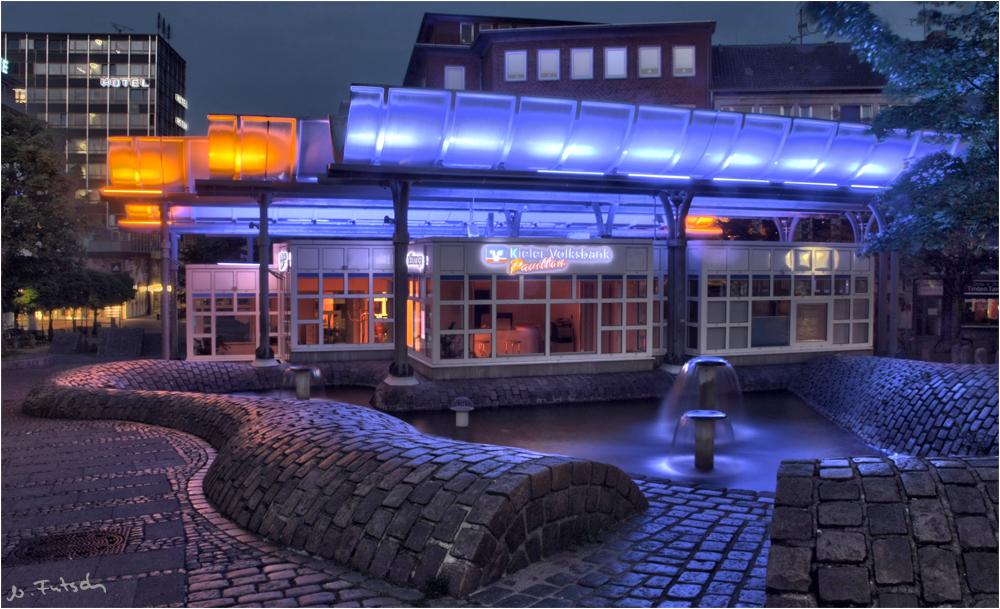Volksbank-Pavillon    Kiel Europaplatz