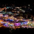 Volksfest bei Nacht 2014