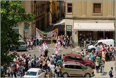 Volksfest in Pamplona...