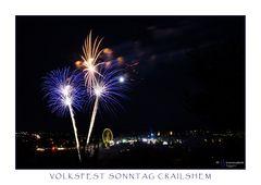 Volksfest Sonntag Crailsheim