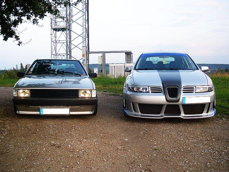 Volkswagen Scirocco ft. Seat Leon