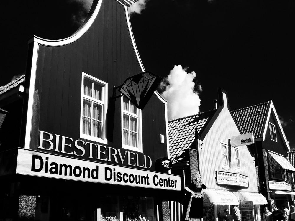 Vollendam, negozio di diamanti