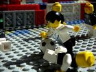 Voller Einsatz in der Legowelt