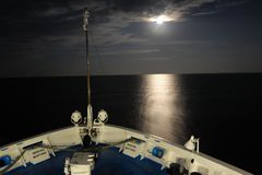Vollmond auf dem Schwarzen Meer