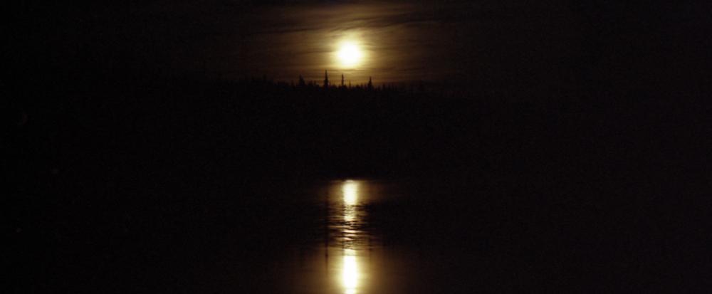 Vollmond im Yukon