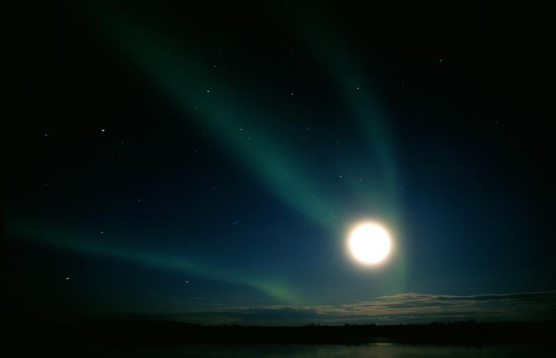 Vollmond in Alaska