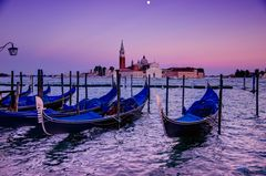 """Vollmondnacht in Venedig....!"""