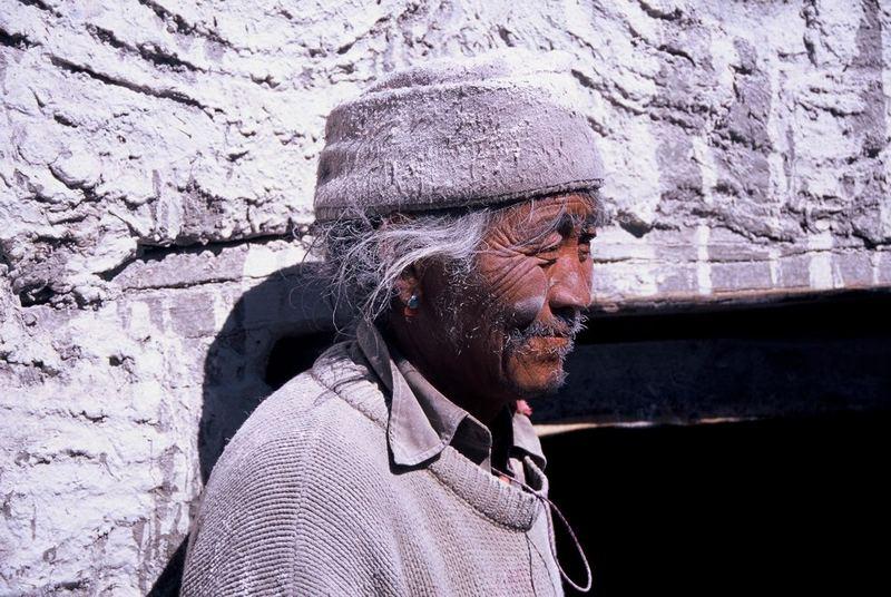 Volti tibetani: il fornaio