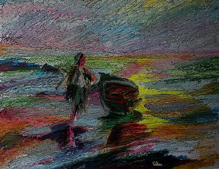 volviendo de la pesca
