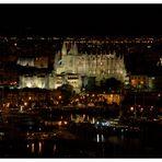 vom Castell de Bellver aus...