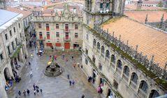 vom Dach der Kathedrale