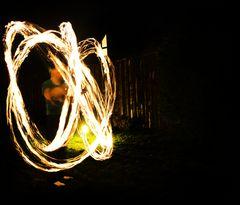 Vom Feuer eingeschlossen