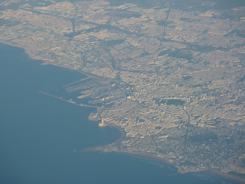 Vom Flieger aus, auf dem Weg Fuerteventura - München