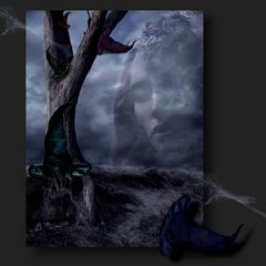 vom geheimnisvollen Hutbaumhügel im Reich der blauen Hexe....