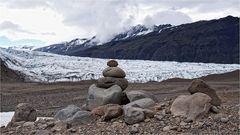 Vom Gletscher abgeladen...