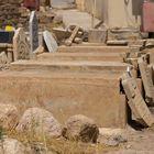 Vom IS zerstörte yezidische Gräber in Bashiqa-Bahzani, Kurdistan