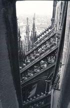 Vom Kölner Dom Richtung Rathaus (1986)