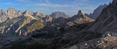 Vom Monte Rudo Grande 2826m zum Pasportenkofel 2701m...