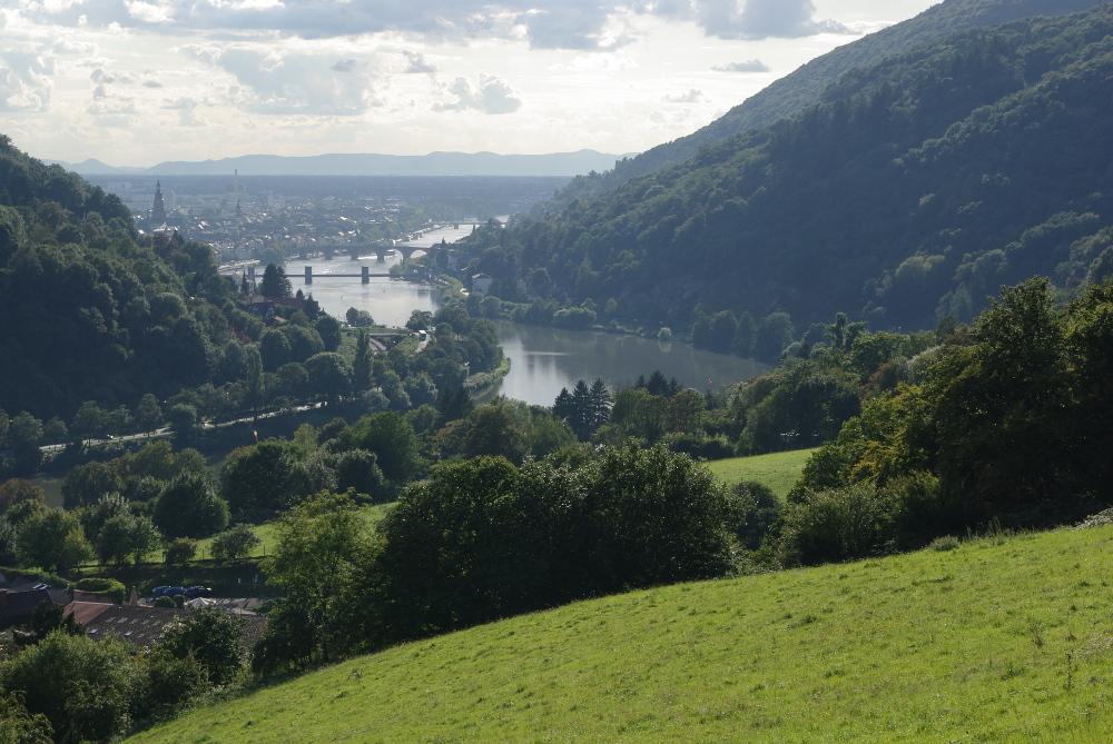 Vom Neckartal in die Rheinebene