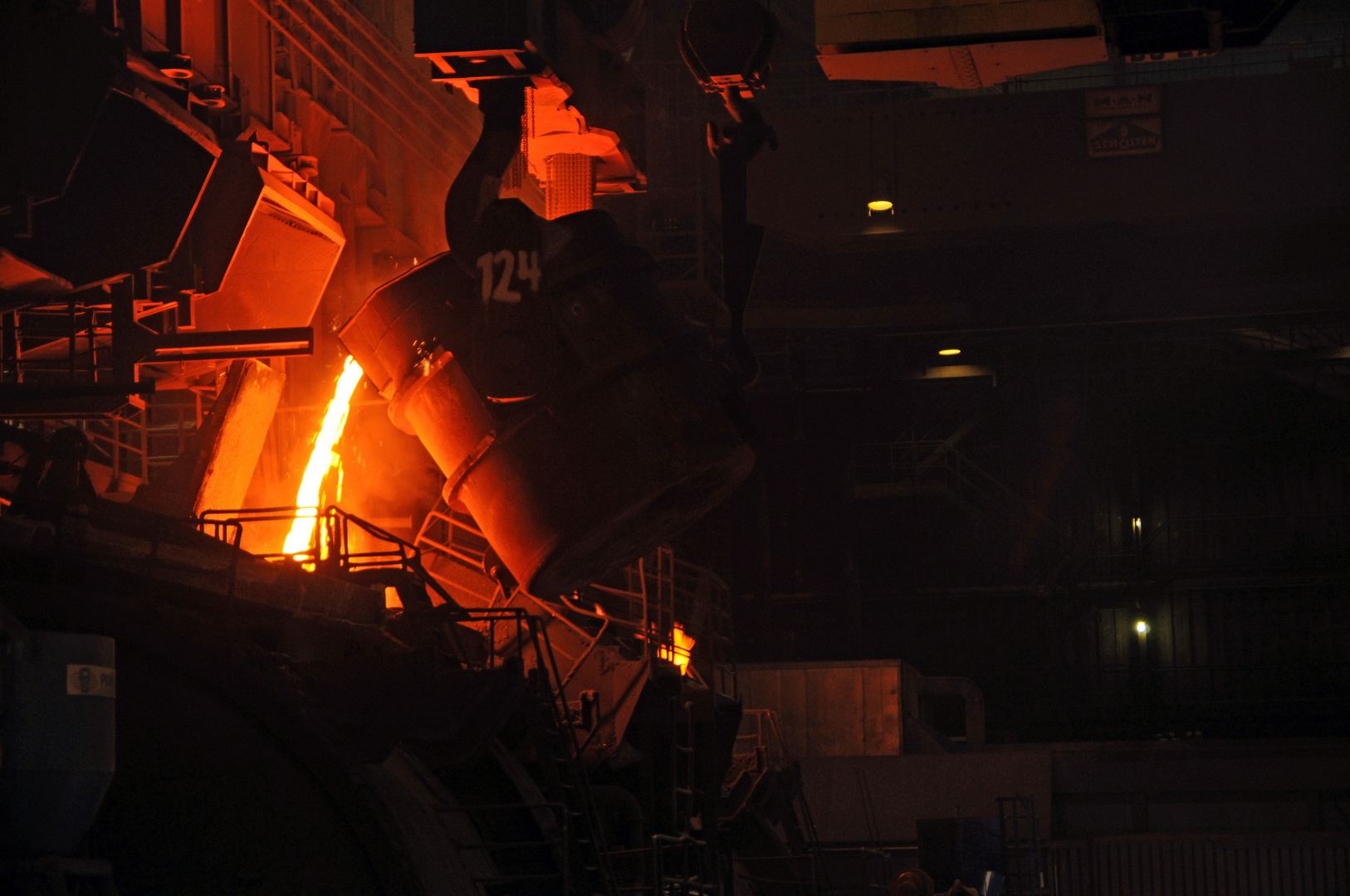 Vom Roheisen zum Stahl