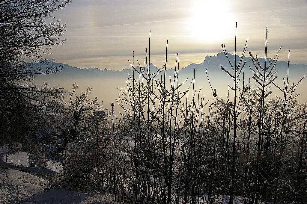 ....vom Salzburger Hausberg (Gaisberg) nach Süden...