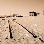 Vom Sand ergriffen