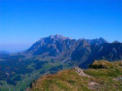 Vom Stockberg mit Sicht zum Säntis